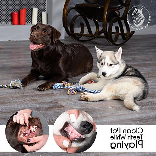 Dog Toys - Chew Teething Toys- Puppy Toy - Small - Toys - Dog Toy Pack Tug Toy Set