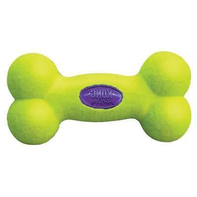 Dog Toys Air Squeaker Bone Shaped Green Tennis Ball Felt Squ