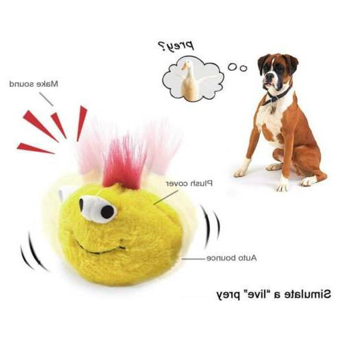 Dog Interactive Plush Chaser Ball