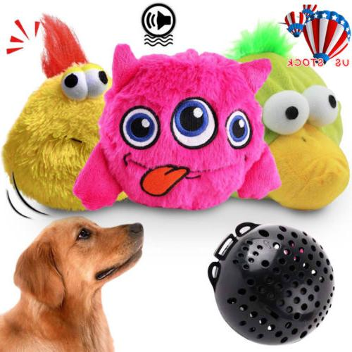 dog toys interactive plush chaser jumping automatic
