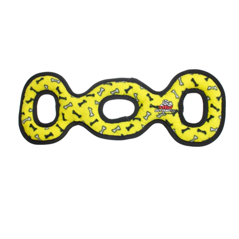 TUFFY Dog Toys - Large 3 Way Tug Toy~ Durable ~ Heavy Duty ~