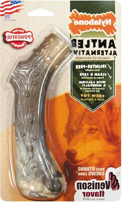 Nylabone Dura Chew Antler Alternative Dog Chew Large Venison