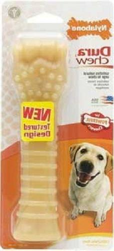 Nylabone DURA CHEW FLAVOR Dog Chews IN USA 5 SIZE CHOICES