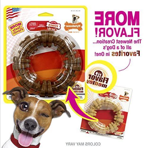 Nylabone Chew Chew Textured Durable Dog Chew Toy, Great