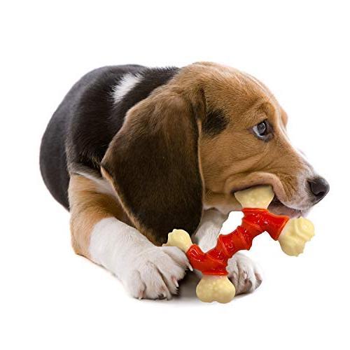 Nylabone Power Chew Double Bacon Dog Toy,