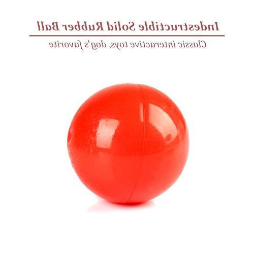 Durable Toys Aggressive Set Tough Dog Dog Bone Ball
