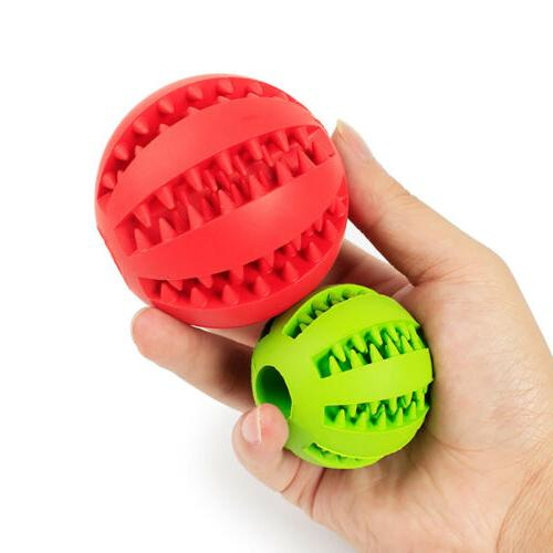 Durable Rubber Pet Dog Puppy Teething Dental Healthy Treat Clean Toy