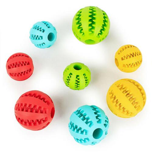 Durable Ball Pet Dog Dental Healthy Treat Toy