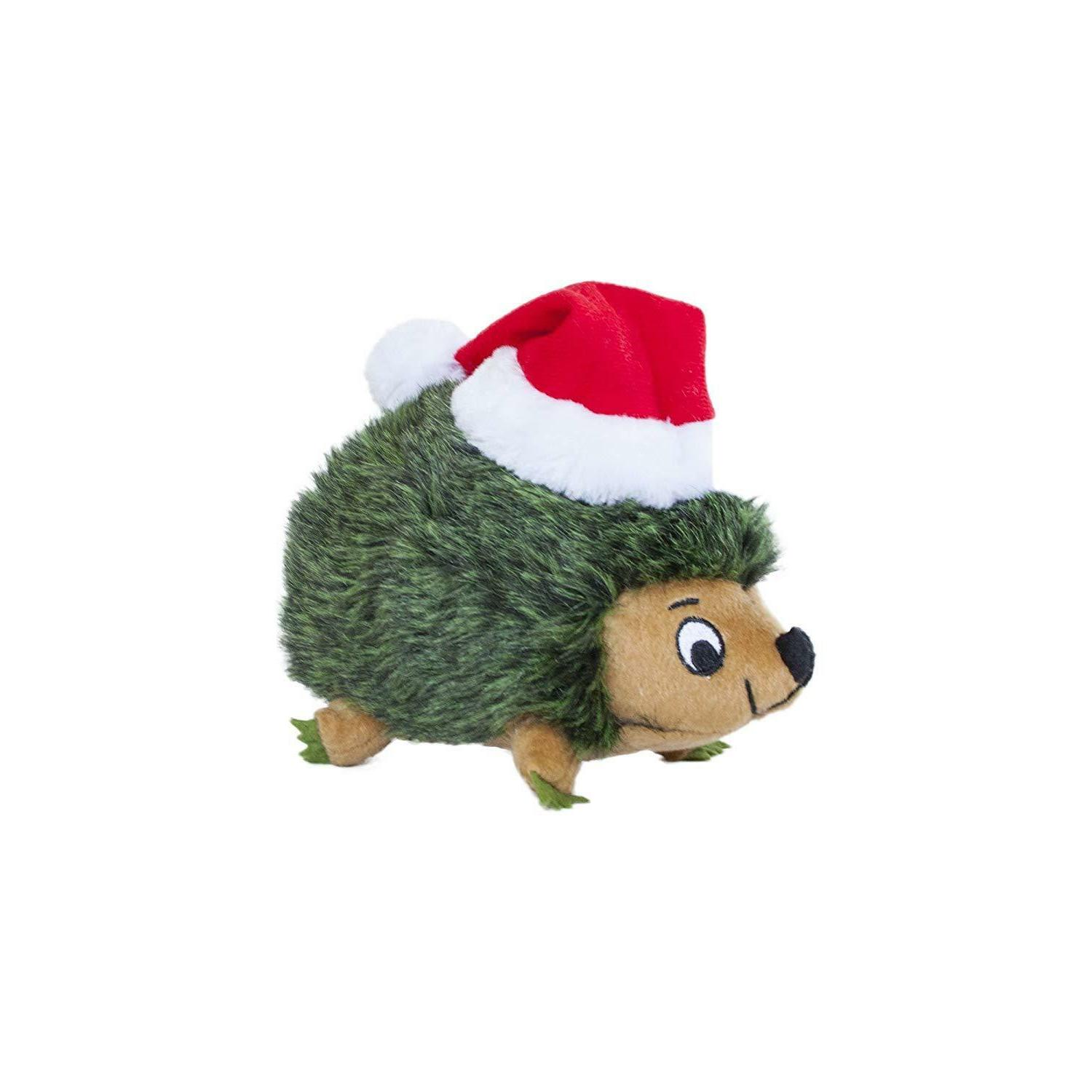 Dog Toy Christmas Santa Hedgehog Hound Holiday