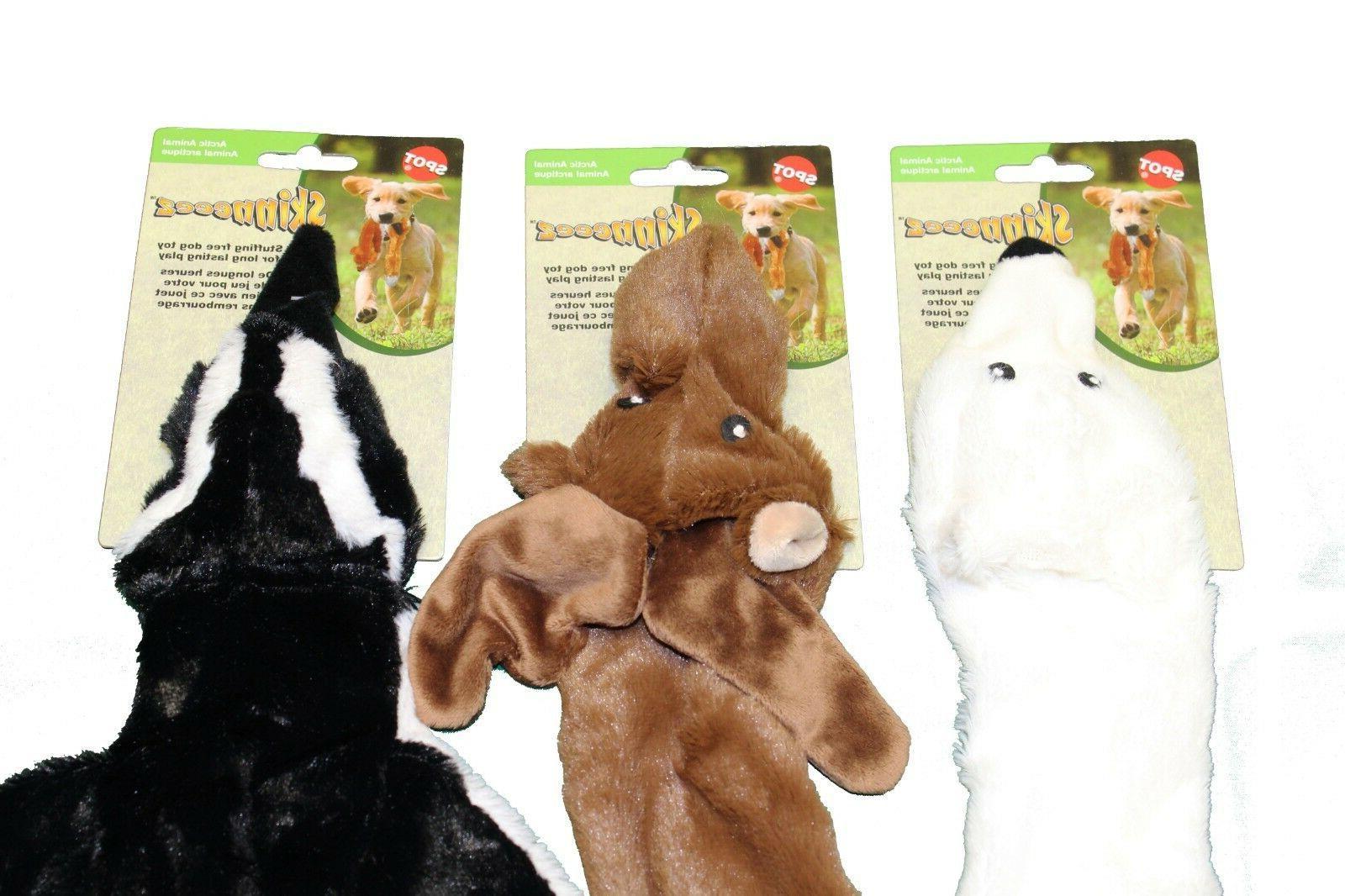 ethical skinneez arctic plush 23 stuffingless toy