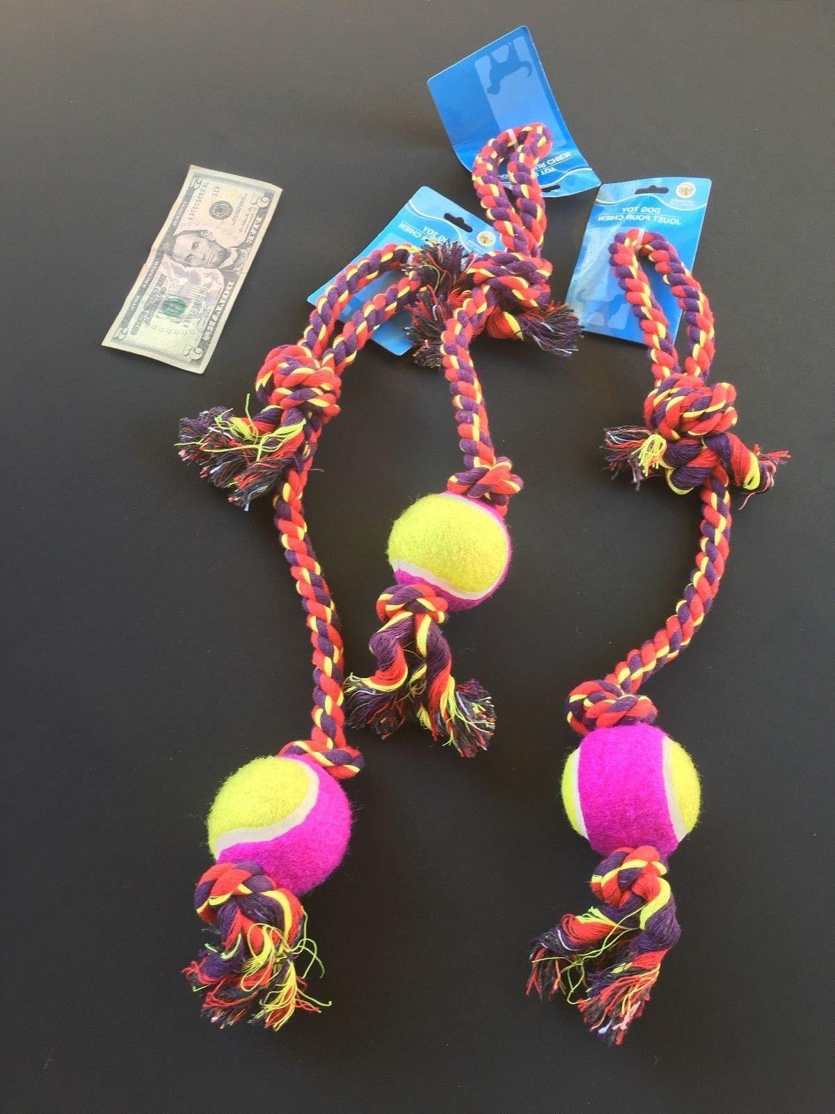 EXTRA LONG Dog Toys Tough Lot Chew and
