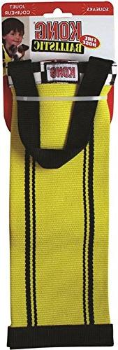 KONG Fire Hose Ballistic Bottle Tracker Toy for Dogs, Large