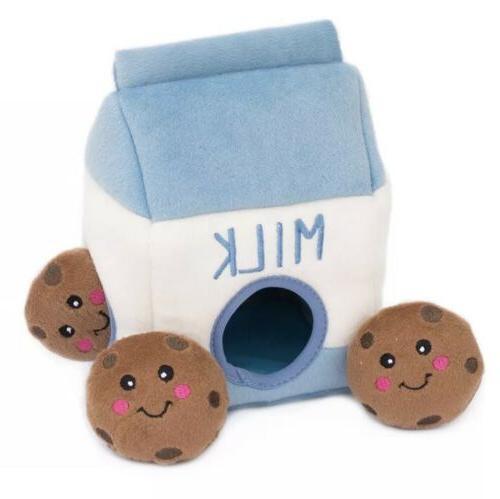 food buddies burrow interactive squeaky hide