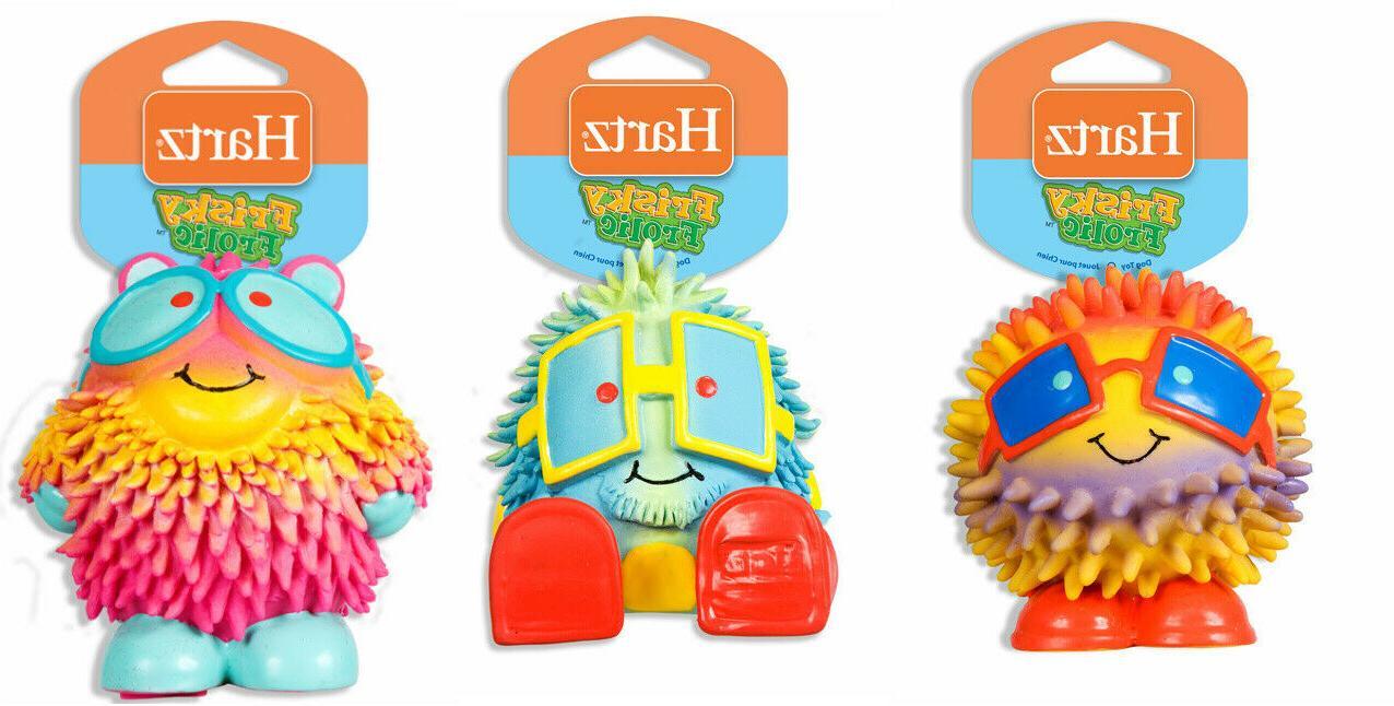 Hartz Frolic Squeakable Toy Puppy Squeak Play Rubber