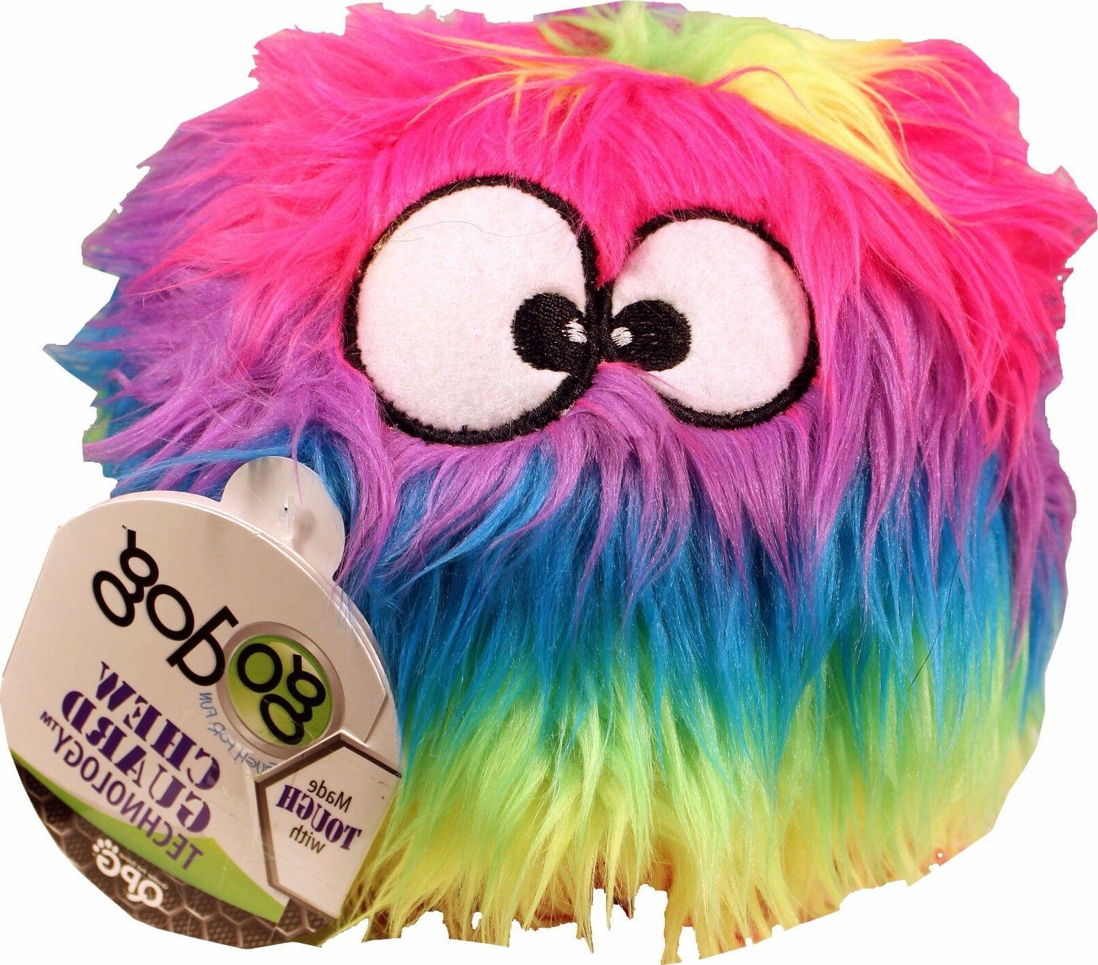 GoDog Dog Toy, Rainbow