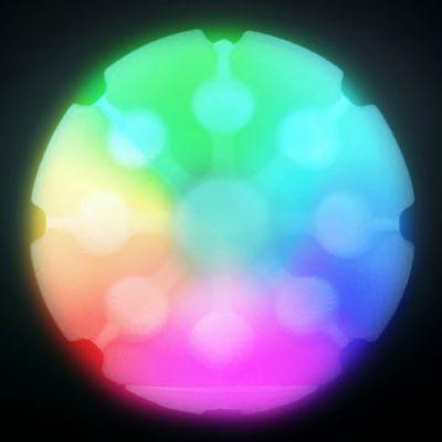 Nite Ize GlowStreak LED Ball Disc-O GSB-07-R7