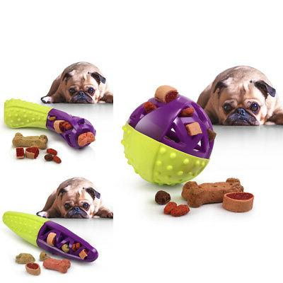 green purple pet dog squeaking chew tooth