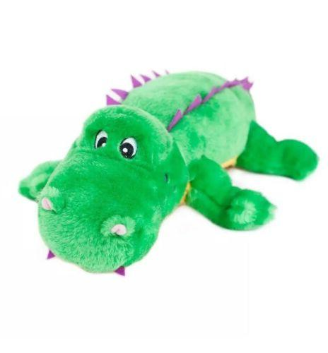 ZippyPaws Alvin the Alligator - Plush Dog Toy