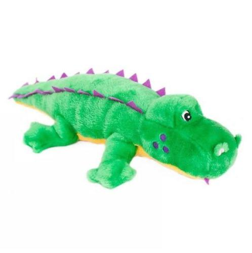 grunterz alvin the alligator large grunting plush