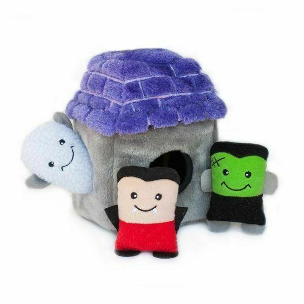 ZippyPaws Halloween Dog Toys: Assorted Burrows and Spooky to