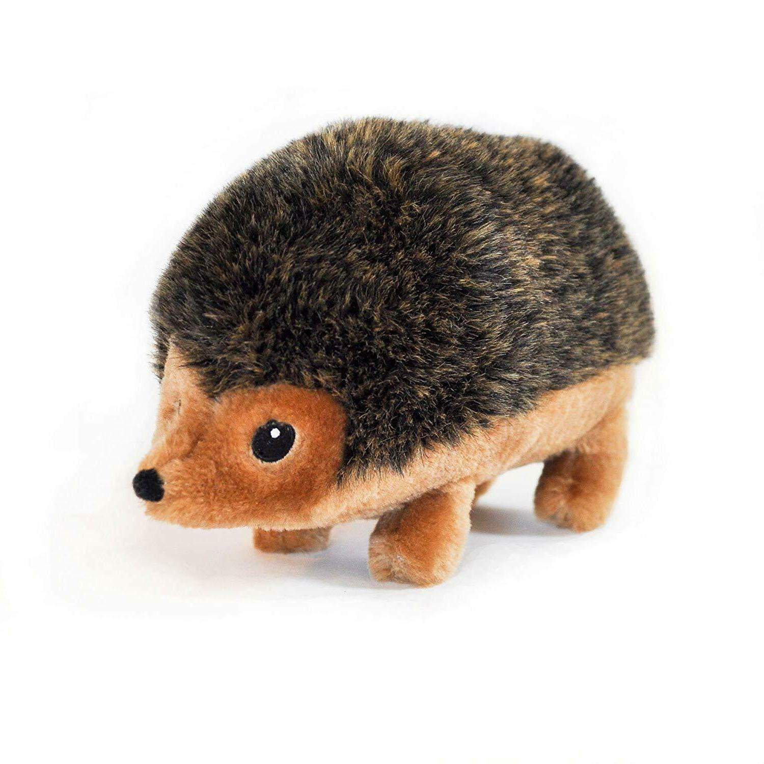 hedgehog plush dog toy soft and durable