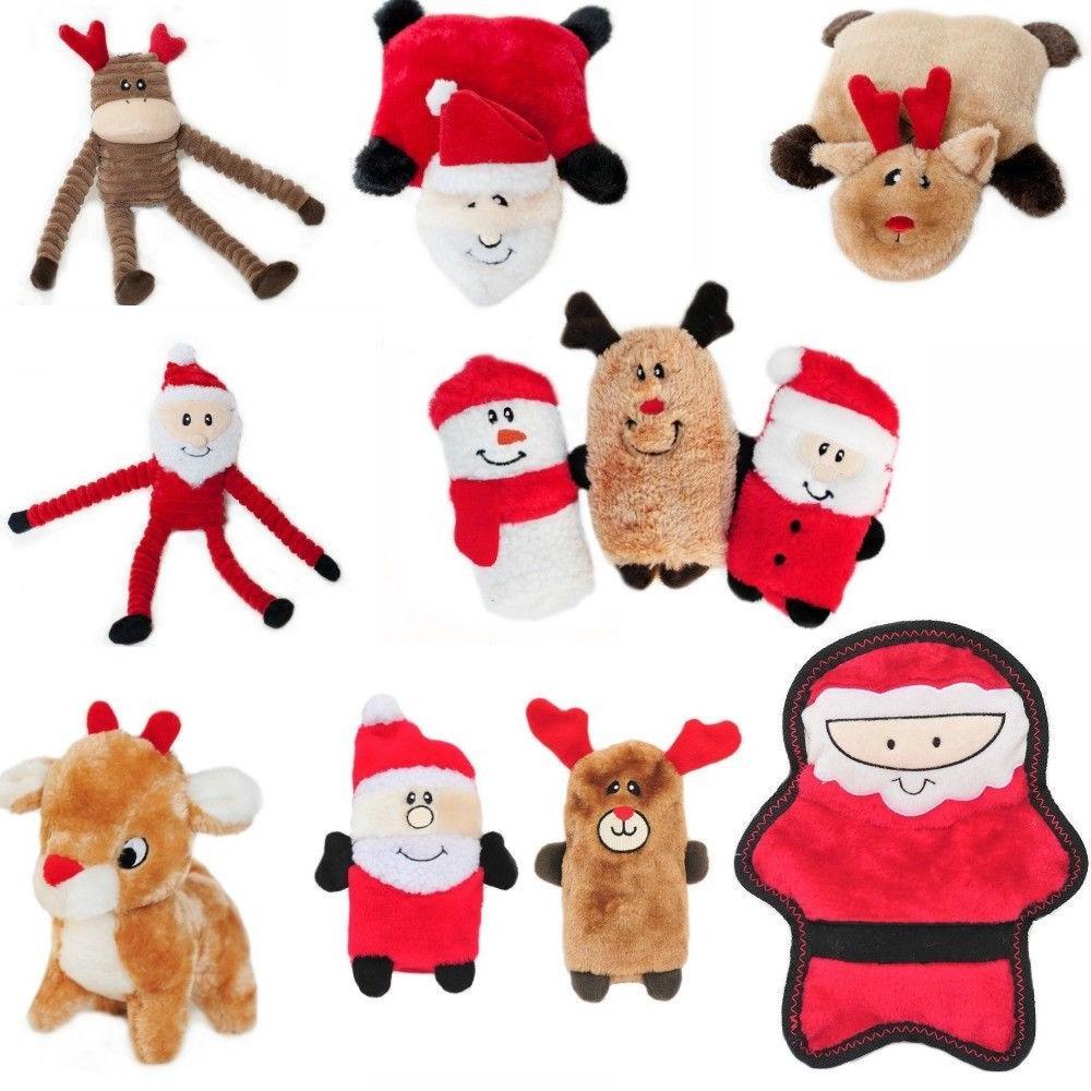 ZippyPaws Holiday Christmas Dog Toys