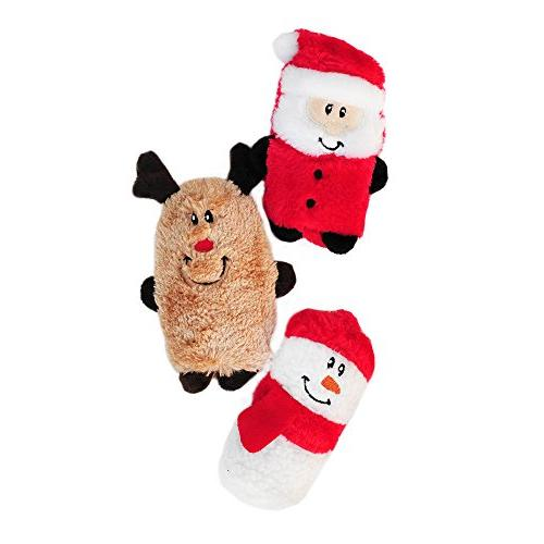 ZippyPaws 3-Pack Buddies - Stuffing Plush