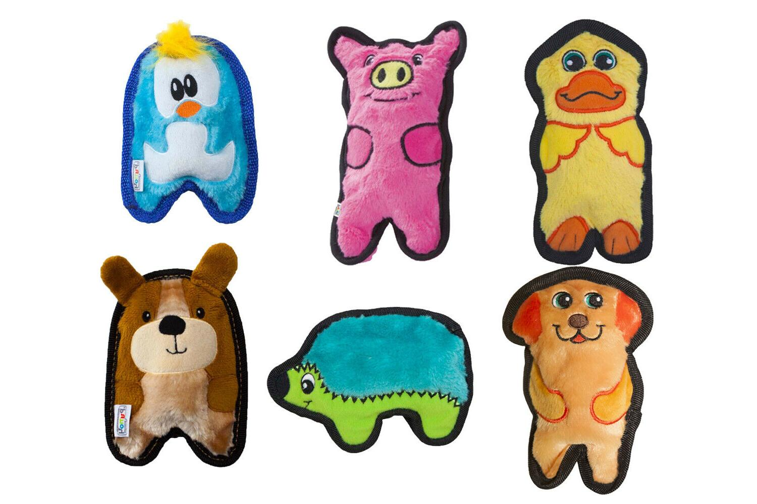 invincibles minis dog toy pig dog duck