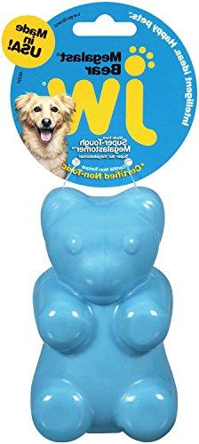 JW Pet Company Megalast Gummi Bear Dog Toy Size:Large Pack o