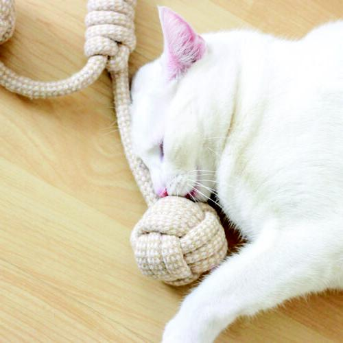 Knitted Toy Braided Cotton Chew Teething