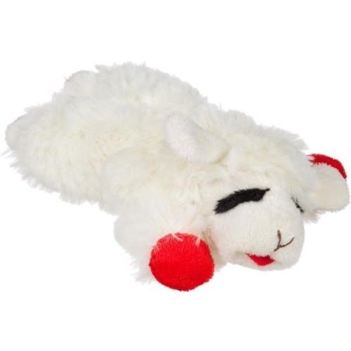 Lamb Pet Multipet Plush Adorable Chew Play