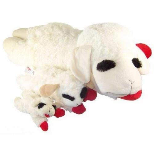 Lamb Squeaker Multipet Plush Adorable Play