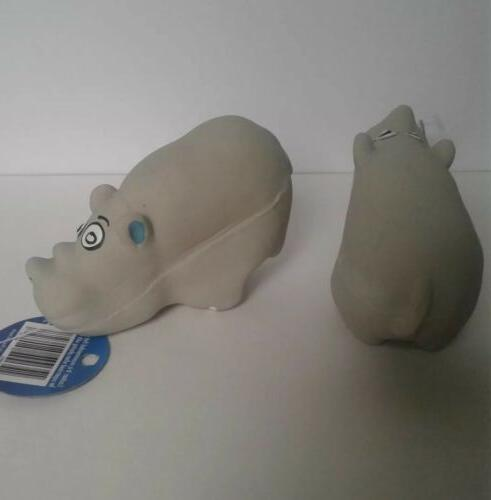 Latex Hippo Toy Lot