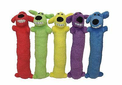 loofa dog plush toy