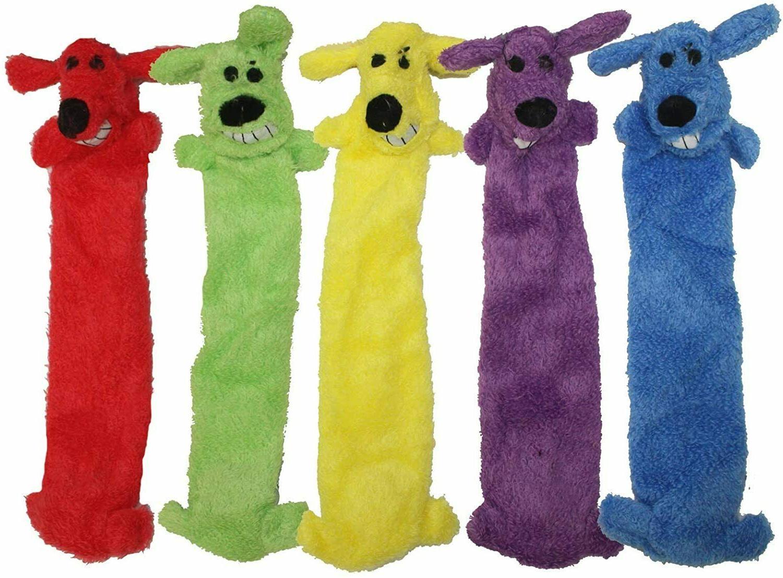 loofa dog toy ligthweight unstuffed free shipping