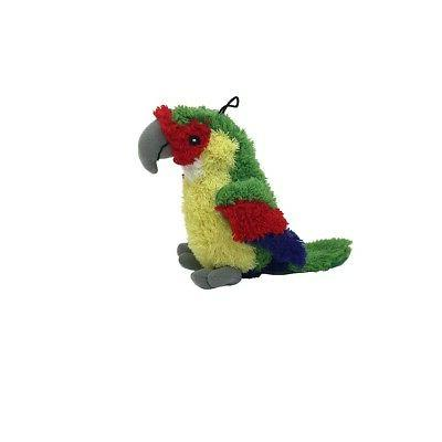 MULTIPET Look Who's Talking Parrot for Dog Toy Talks when yo