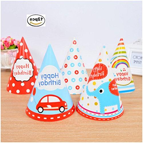 lovely paper cone birthday party