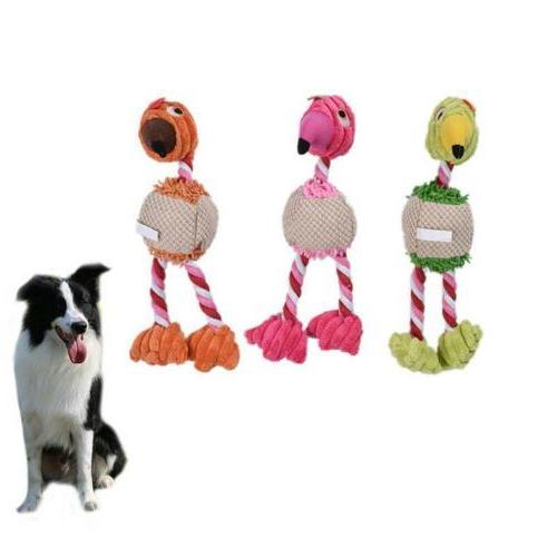 lovely plush bird pet dog toys sound