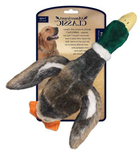 mallard dog toy
