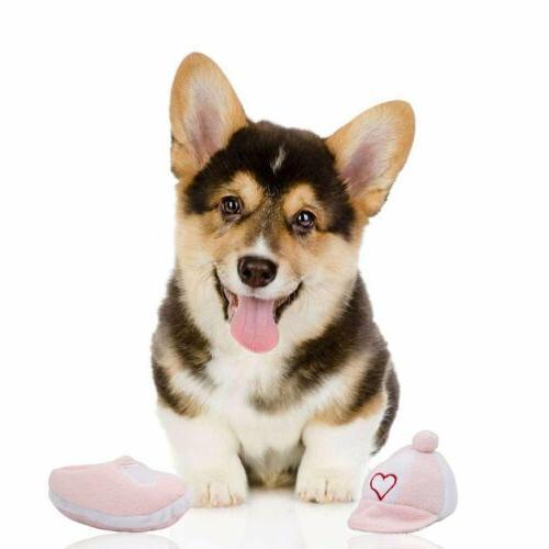 Mallard Dog Toys for Aggressive Chewers Plush Stuffed PINK C