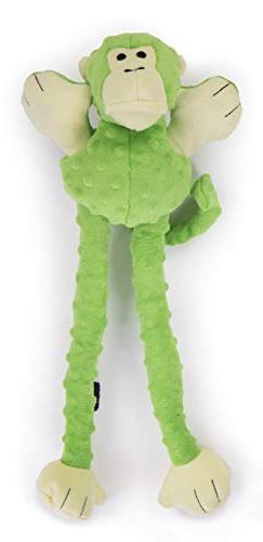 goDog Crazy Plush Dog Toy, Large