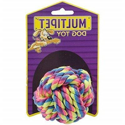 """Multipet Nuts For Knots Dog Toy 2.5""""-"""