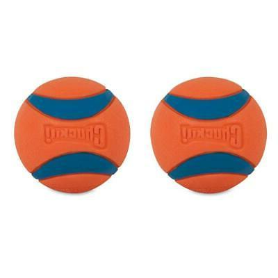 New 2-Pack Ultra Dog Bounces Floats Bright Blue