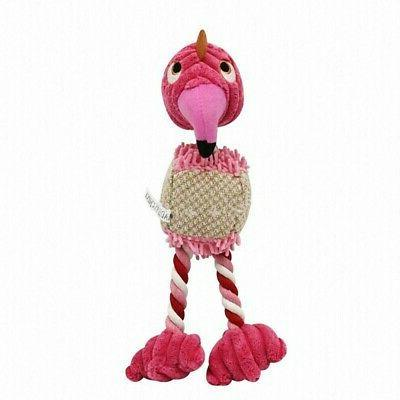 New Puppy Dog Cat Chew Toy Rope Bird Doll