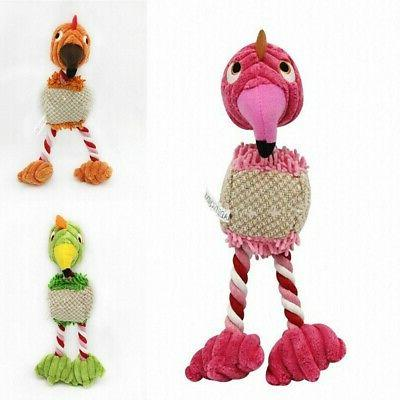 New Training Cute Puppy Cat Toy Bird Doll Toys