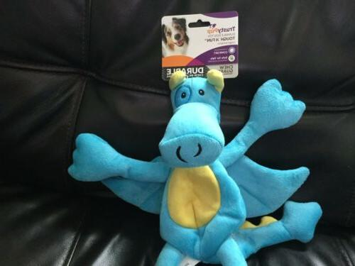 NWT Teal DRAGON Soft Puppy Pet Squeakers
