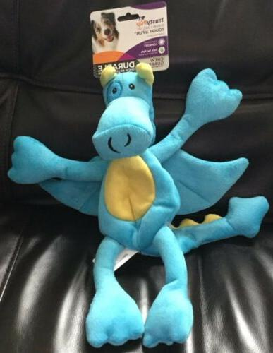 nwt teal blue dragon soft plush dog