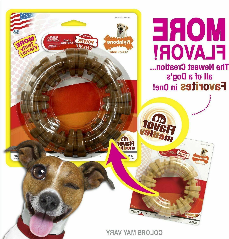 Nylabone DuraChew Textured Ring Flavor Dog Toy, X-Large SHIPPING