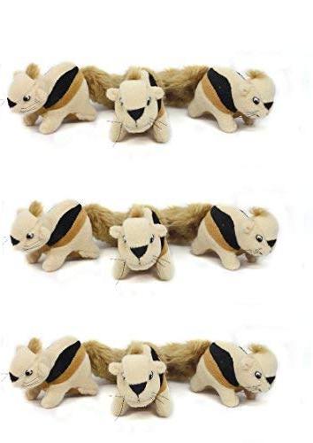 Outward Hound Plush Puppies HIDE A SQUIRREL REPLACEMENT Dog