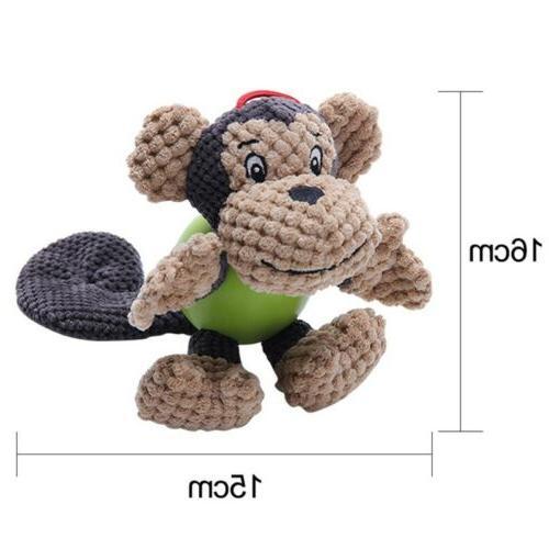 Pet Shape Plush Corduroy Fabric Toys Bite